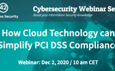 Webinar: How Cloud Technology can Simplify PCI DSS Compliance